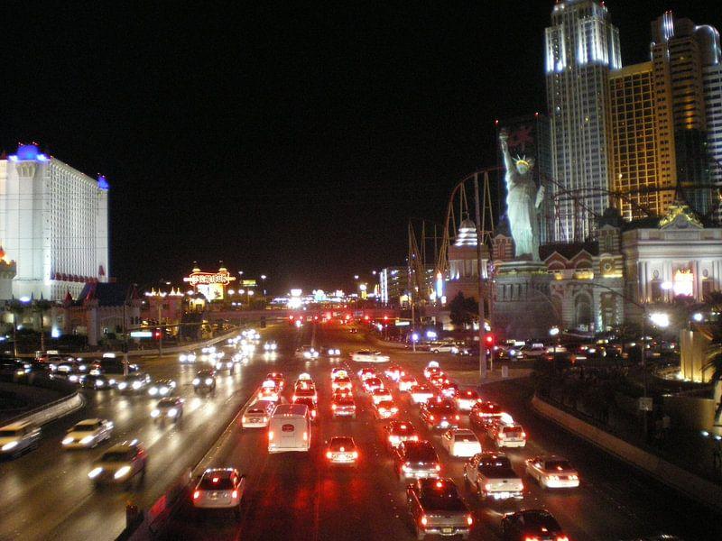 Las Vegas, The Strip, USA van Jeffrey de Ruig