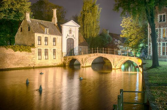 Brugge in de avond