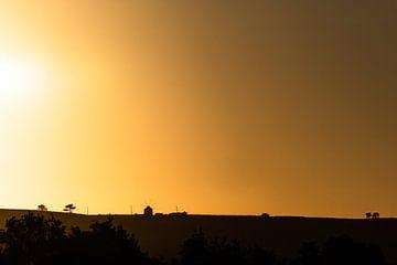 Sunset Silhouette... van Jarno Bonhof