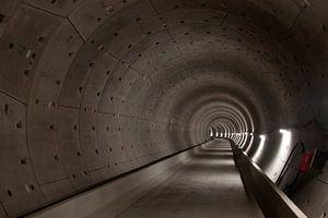 Tunnelbuis van de metro