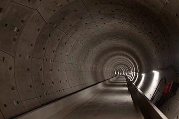 Tunnelbuis van de metro van Maurice de vries