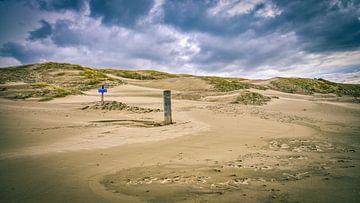 Kustlijn met het Noordzeestrand en het duinlandschap
