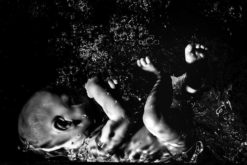 waterbaby van Jiske Wijmans @Artistieke Fotografie
