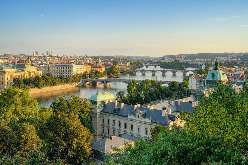 Blick über Prag von Michael Valjak