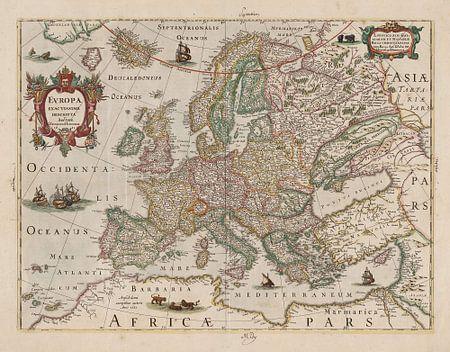 Landkaarten en wereldkaarten van klassiek tot creatief - Mand linnen huis van de wereld ...