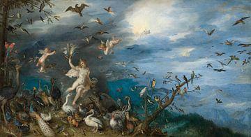 Luft, Jan Brueghel der Ältere