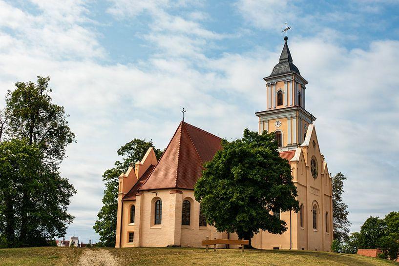 Church in Boitzenburg, Germany van Rico Ködder