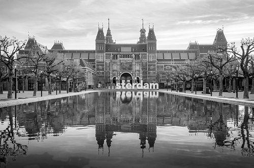 Museumplein - Rijksmuseum von Hugo Lingeman