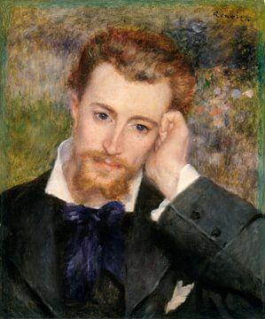 Eugène Murer (Hyacinthe-Eugène Meunier, 1841-1906), Auguste Renoir sur