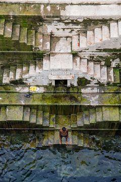 Stufenbrunnen (Baori) in Jodhpur von Sofie Bogaert