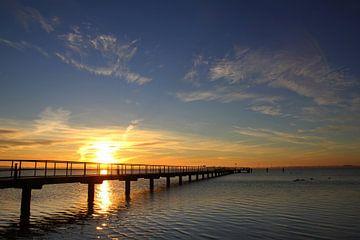 Seebrücke auf Rügen van