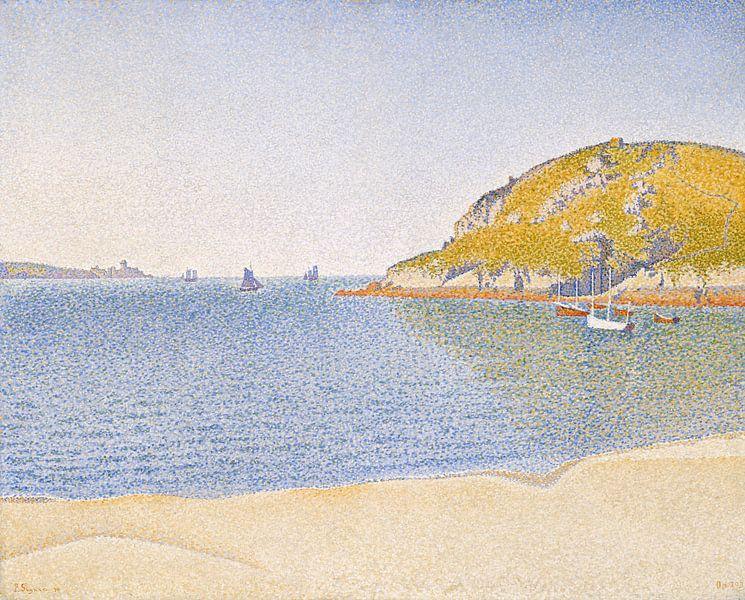 Paul Signac. Saint-Cast Opus 209 van 1000 Schilderijen