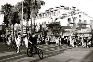 Venice Beach 2 BW, California