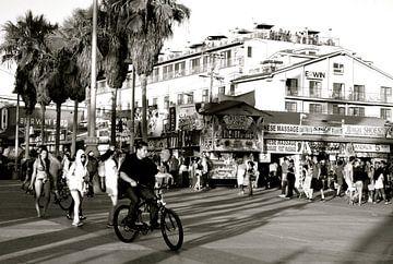 Venice Beach 2 BW, California van Samantha Phung