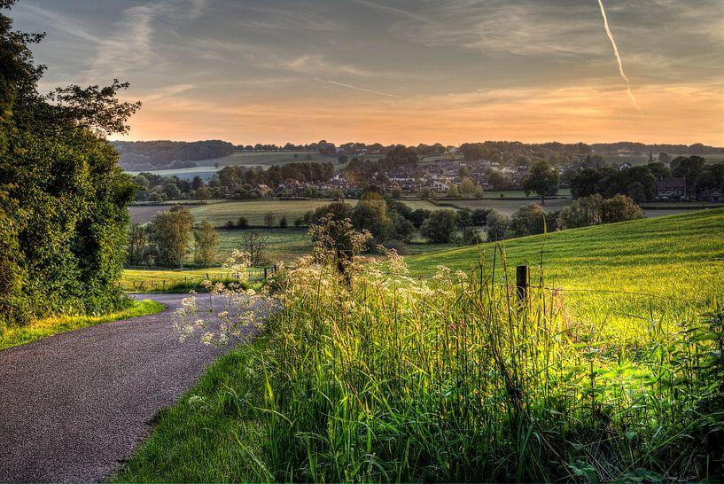 Het Zuid Limburgse landschap van Eus Driessen