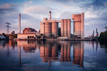Industriefotografie: Zementwerk Berlin / Kraftwerk Klingenberg sur Alexander Voss