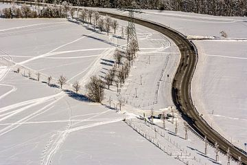 Winter Schnee von Johnny Flash