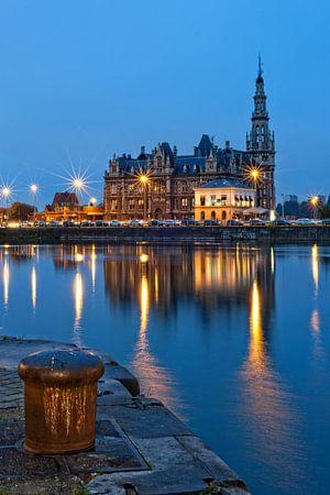 Loodswezen / Bonapartedok / Antwerpen von Rob de Voogd / zzapback