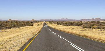 Weg in Namibië