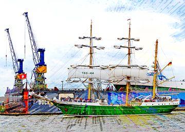 Zeilschip Alexander von Humboldt van Leopold Brix