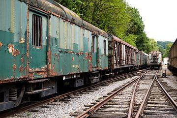 Verlassene Züge von Nanne Bekkema