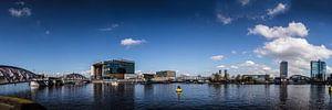 Oosterdok Conservatorium Amsterdam panorama