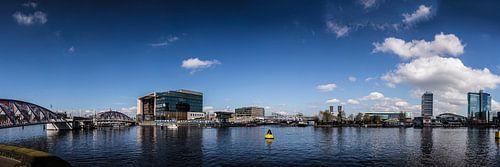Oosterdok Conservatorium Amsterdam panorama van