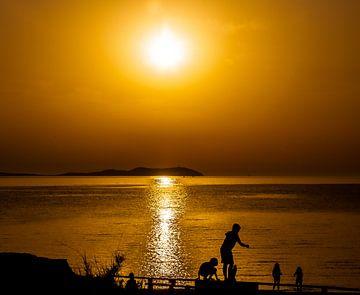 Sonnenuntergang auf Ibiza von Norbert Vaessen