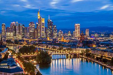 Skyline Frankfurt am Main van Heiko Lehmann