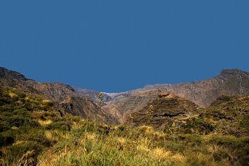 Gran Canaria vulkaaneiland. van Anja van de Graaf