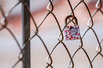 Single Love Lock van Urban Photo Lab