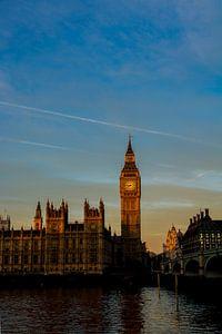 Big Ben met zonsopkomst