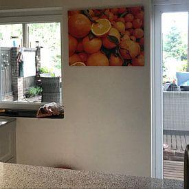 Klantfoto: Oranje sinaasappels fruit van ÇaVa Fotografie