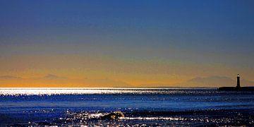 Schemering - avond aan zee van Dirk H. Wendt