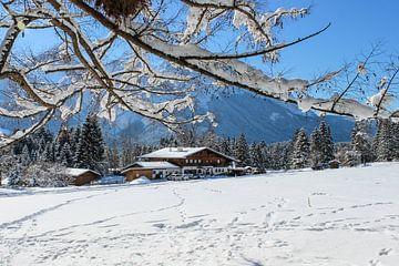 W i n d b e u t e l a l m  im Winter von Andreas Stach