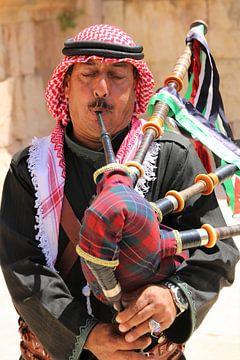 Jordaanse muziekant van Rob Hansum