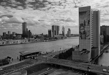 Rotterdam vanaf het Witte Huis van