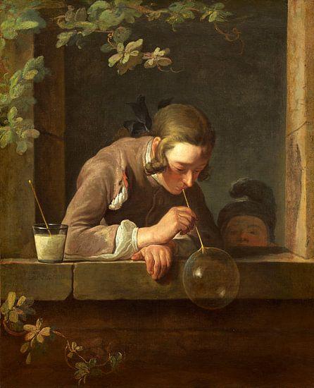 zeep bellen, Jean Simeon Chardin