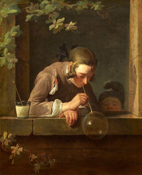 zeep bellen, Jean Simeon Chardin van Liszt Collection