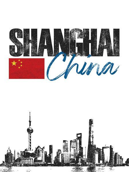 Shanghai China van Printed Artings