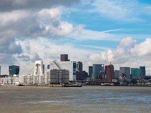 Skyline Rotterdam sur