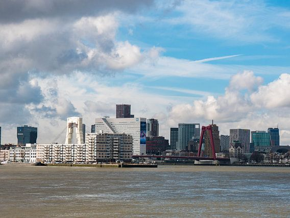 Skyline Rotterdam van Maxpix, creatieve fotografie