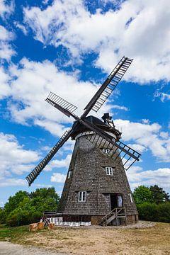 Die Windmühle in Benz auf der Insel Usedom von Rico Ködder