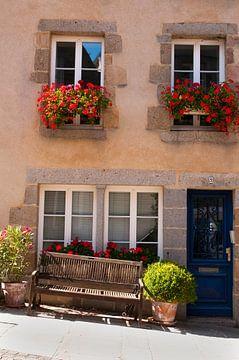 Fassade eines Hauses in Frankreich von Anita Hermans
