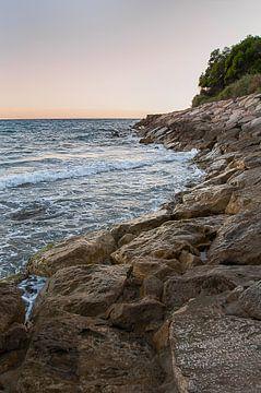 Coucher de soleil Costa Dorada sur Davy Reitsma