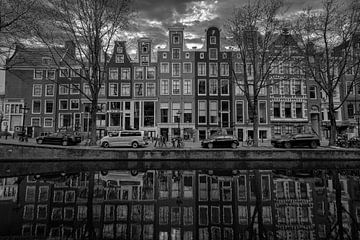 Leliegracht Amsterdam van Peter Bartelings Photography