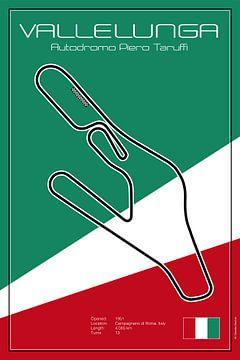 Vallelunga-racebaan van Theodor Decker