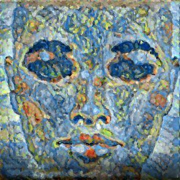 Abstract Inspiratie XXVI van Maurice Dawson