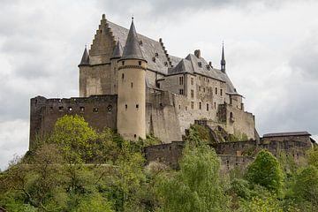Vianden kasteel, luxemburg. van Marijke Arends-Meiring
