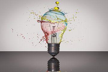 Spetteren met kleur von Hans van der Grient